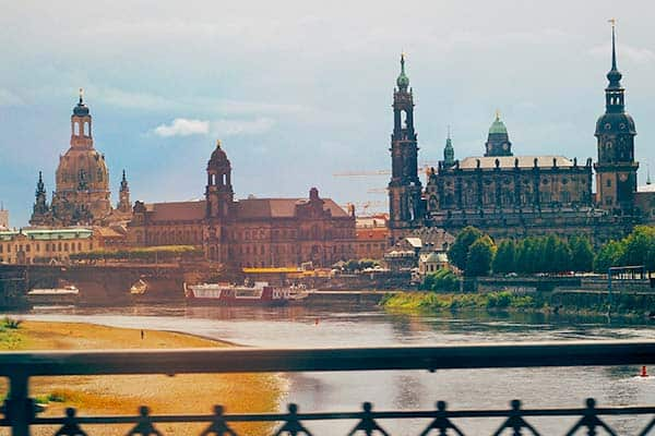 Dresden in Germany is one of the most beautiful cities in Germany
