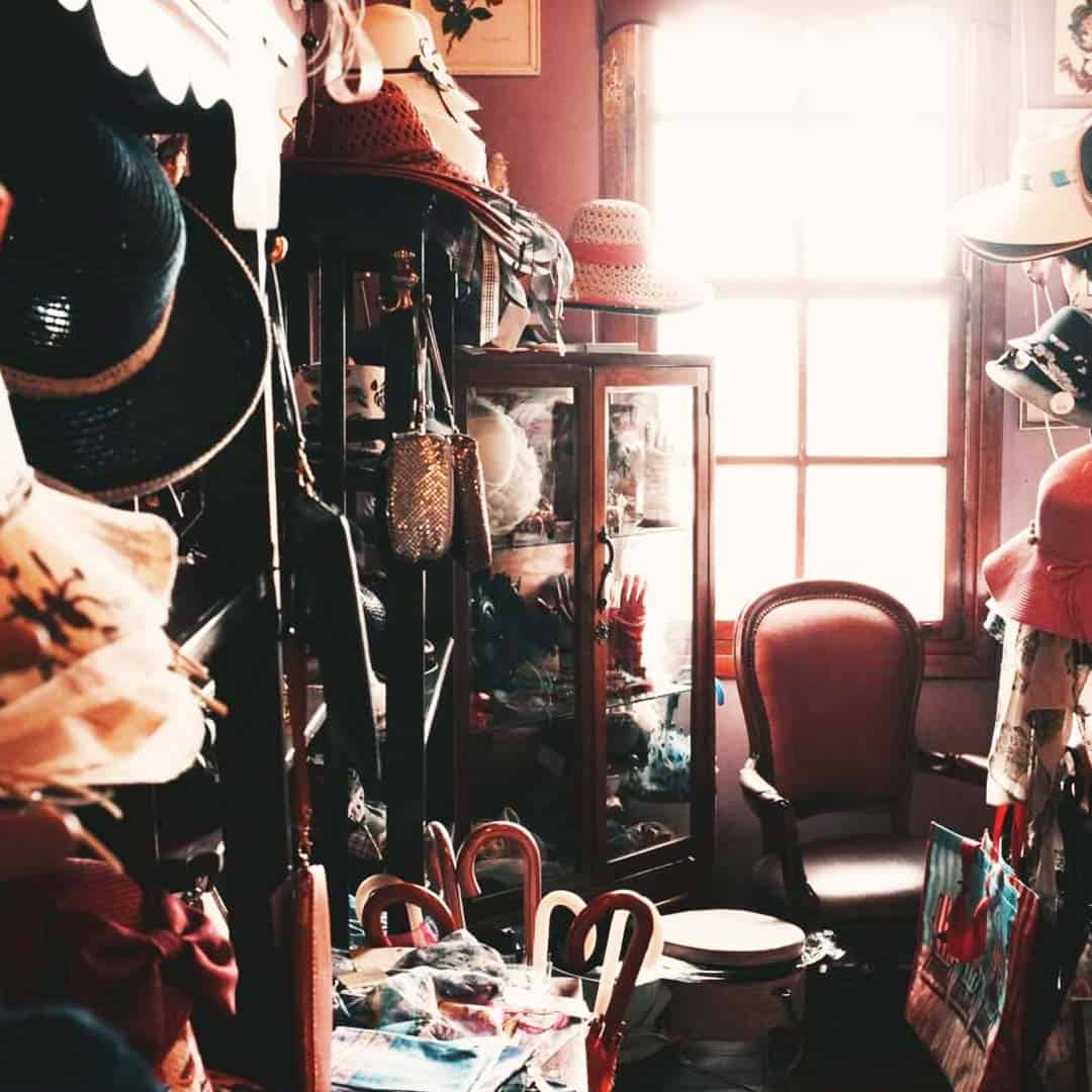 Join a local and Charity Shop Hop the city's hot spots and find treasures