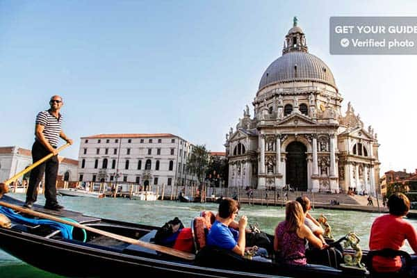 Visiting Venice won't be complete without having a gondola ride