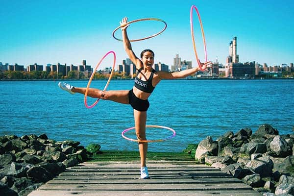Join the Hula School and start moving your body with hoops