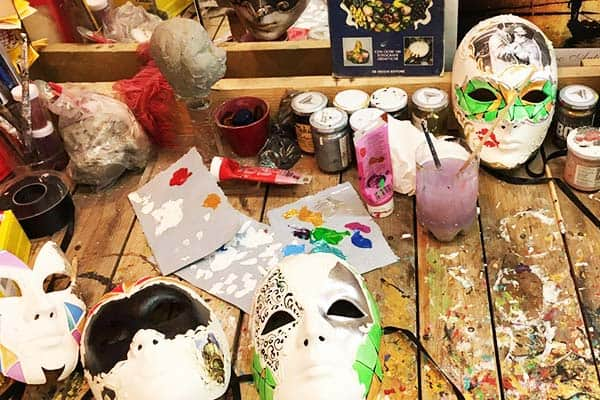 Be creative and make your own Venetian Mask for the Carnival