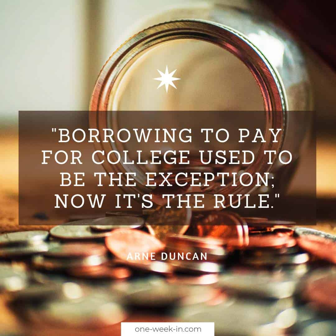 Borrowing to pay for college used to be the exception