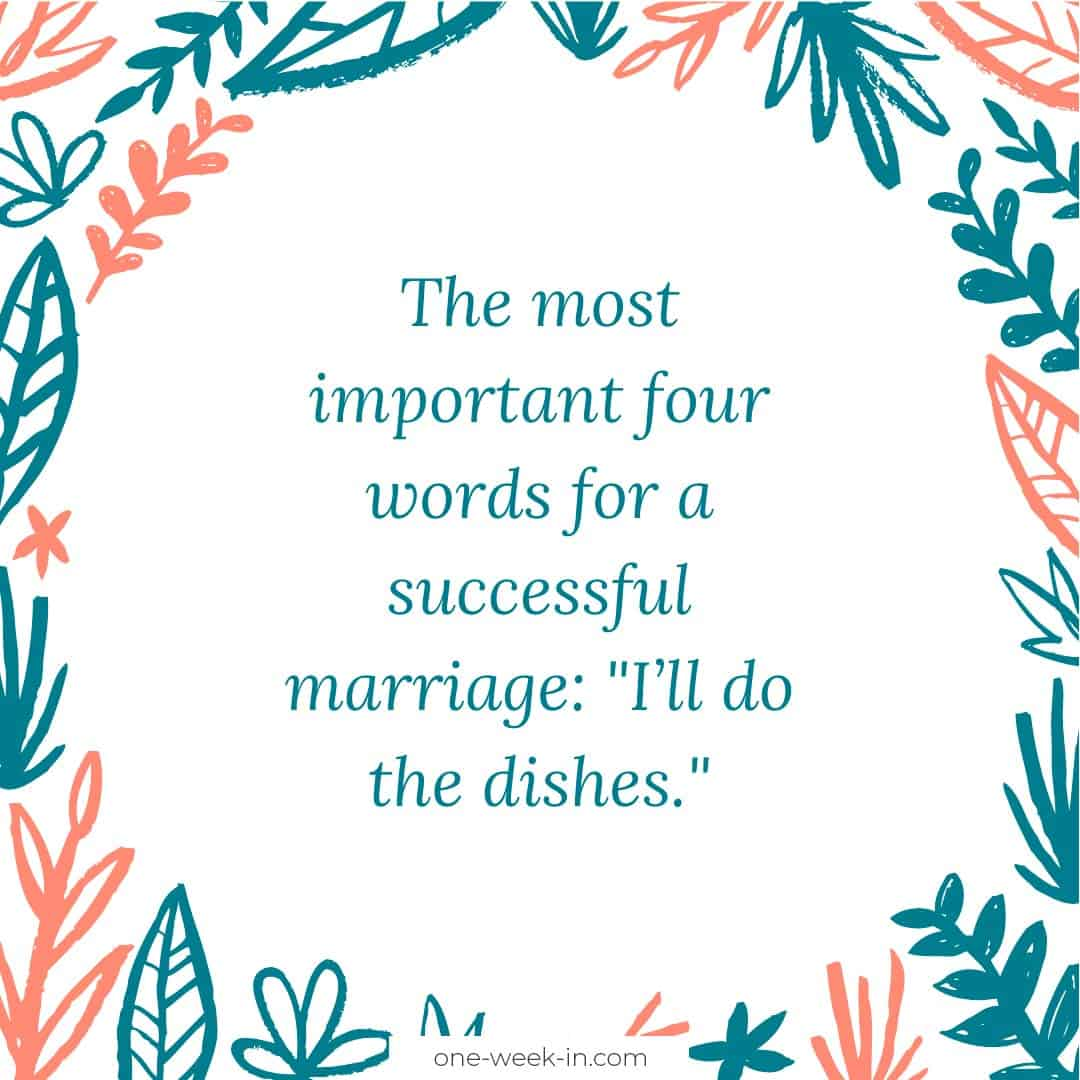 The most important four words for a successful marriage