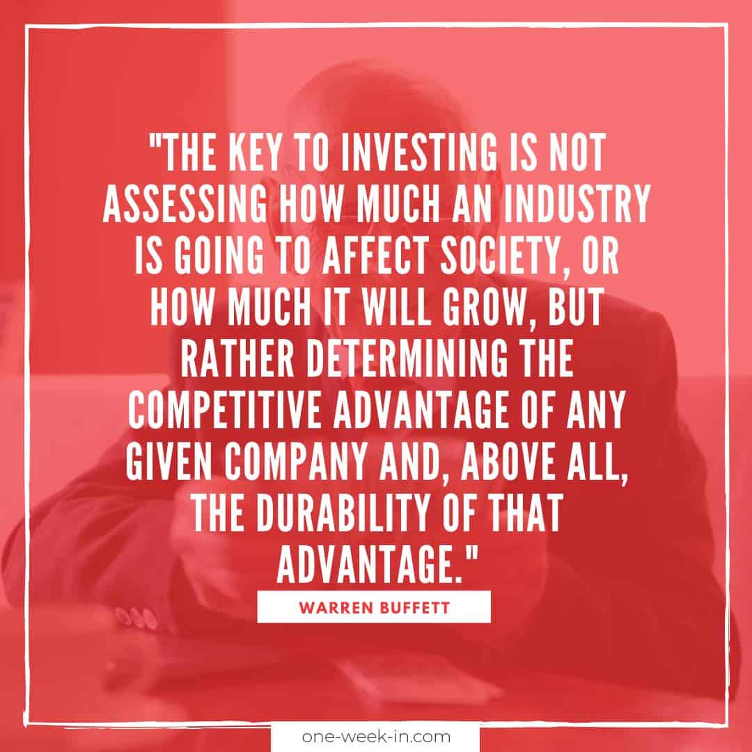 The key to investing is not assessing how much an industry is going to affect society