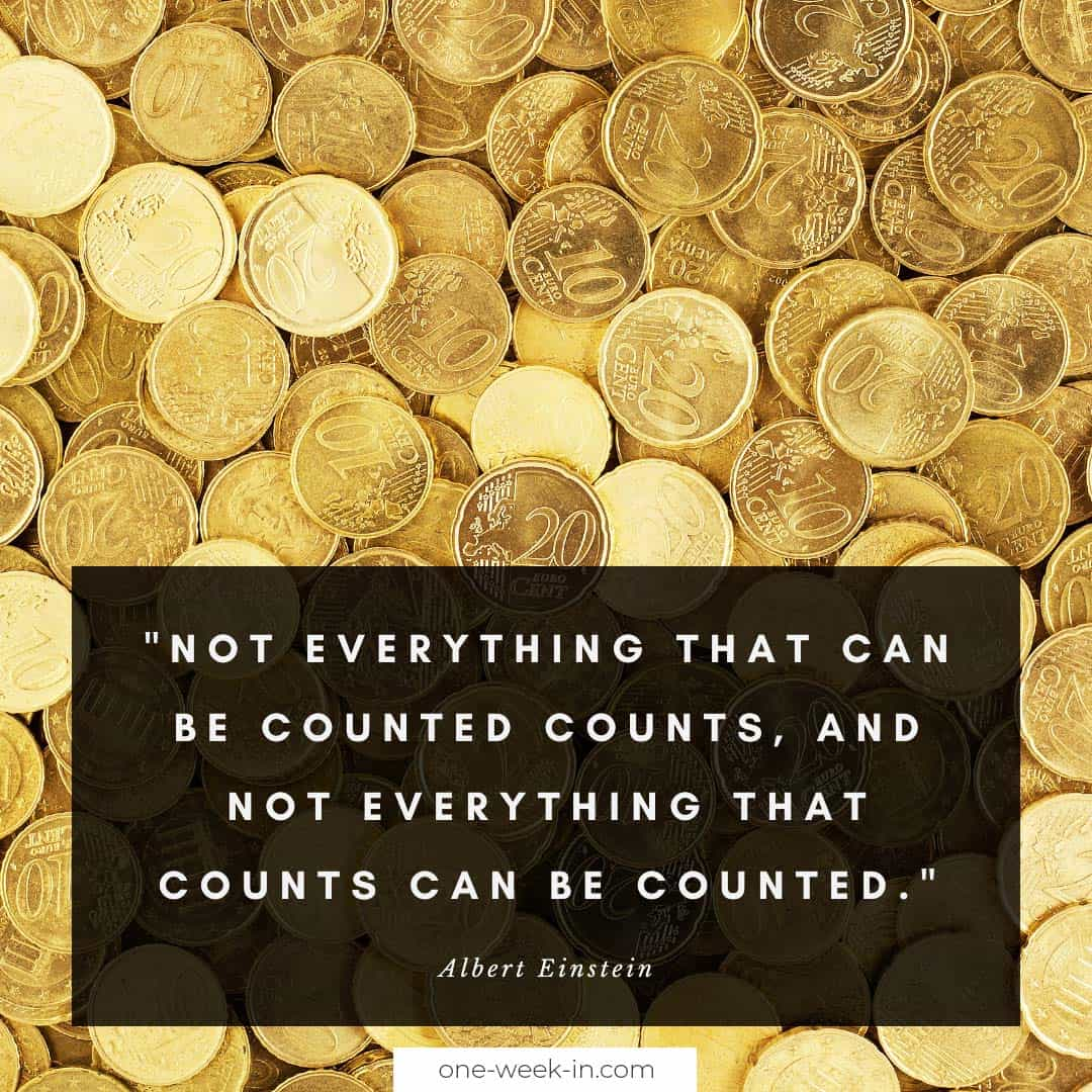 Not everything that can be counted counts