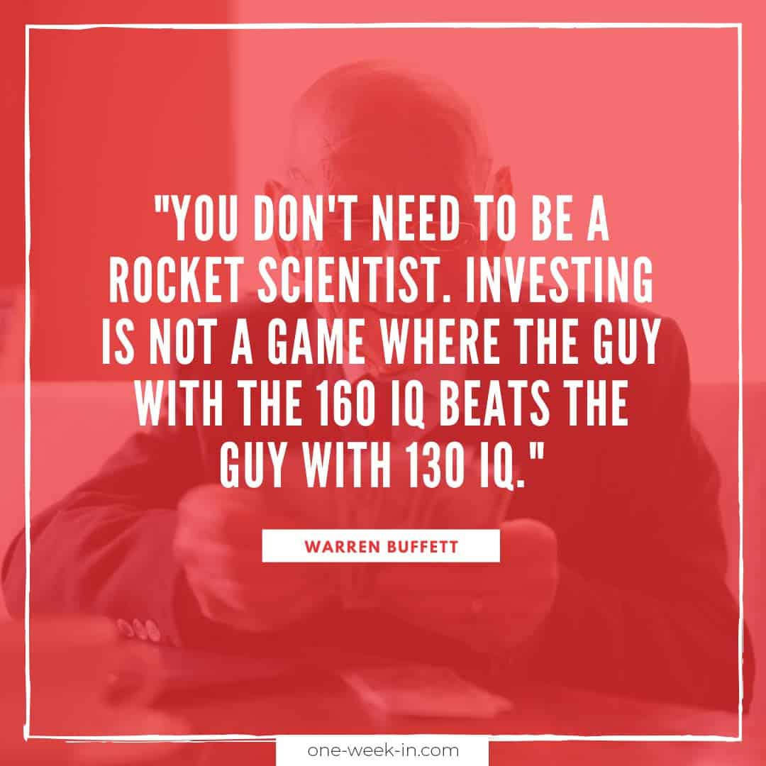 You don't need to be a rocket scientist