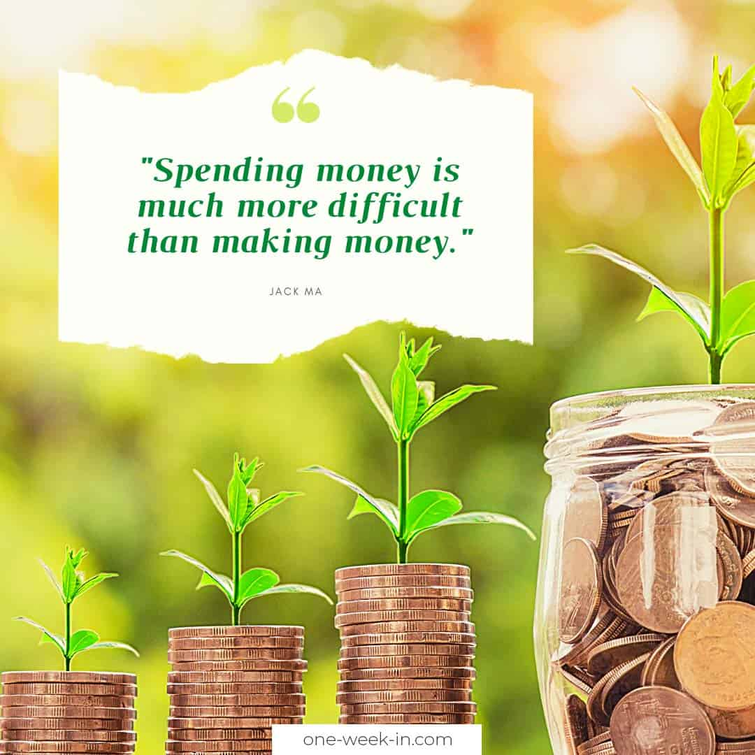 Spending money is much more difficult than making money