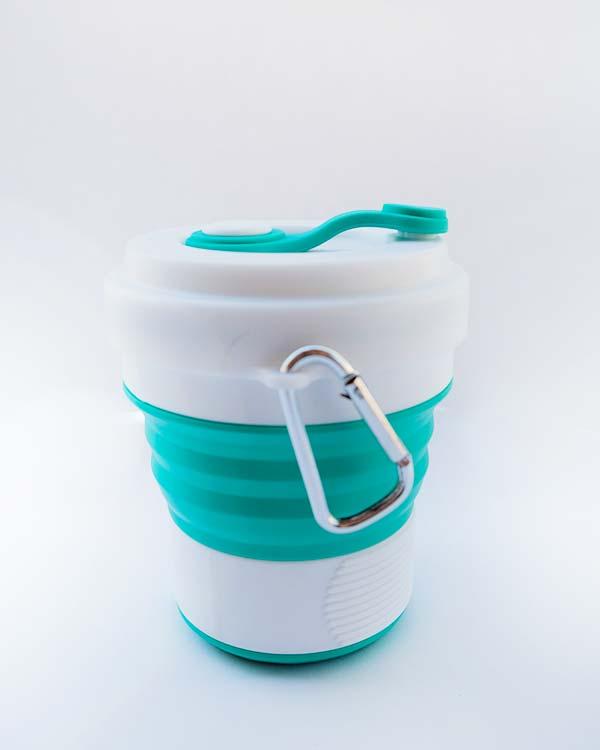 collapsible travel mug