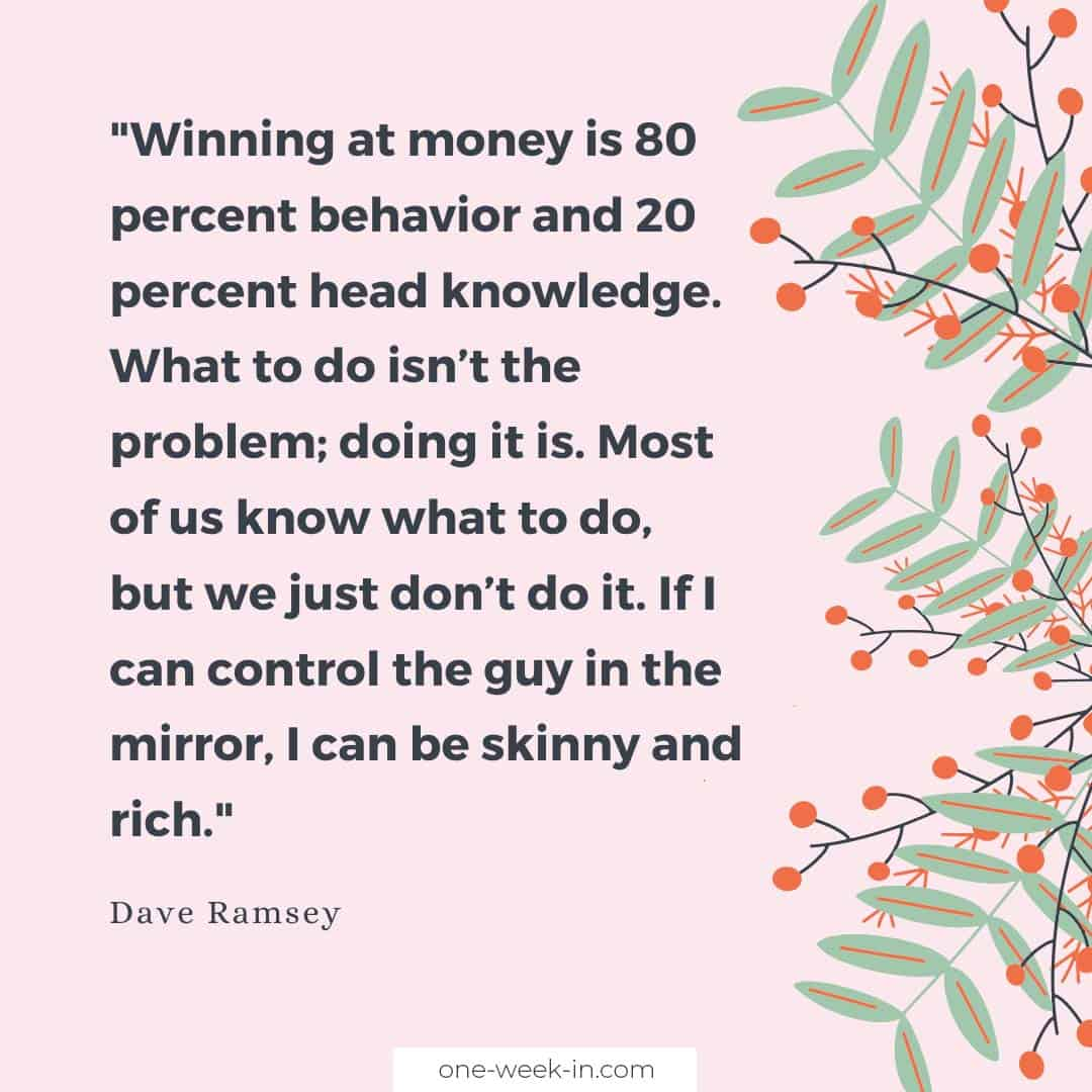 Winning at money is 80 percent behavior and 20 percent head knowledge