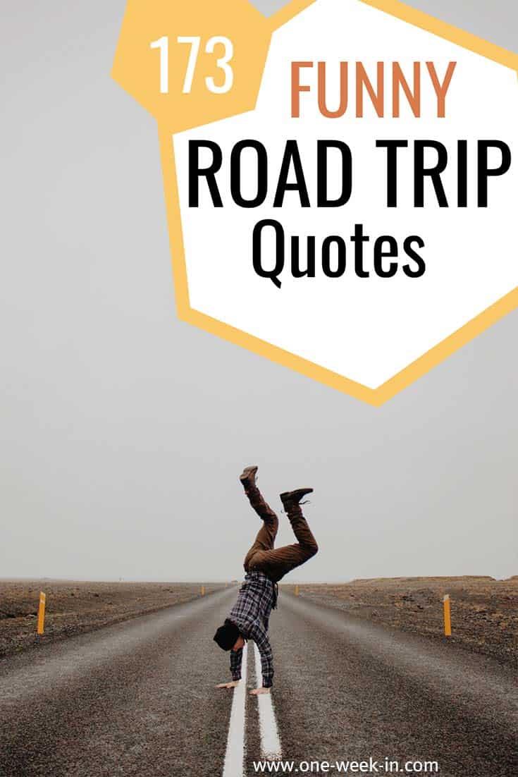 Amazing road trip quotes