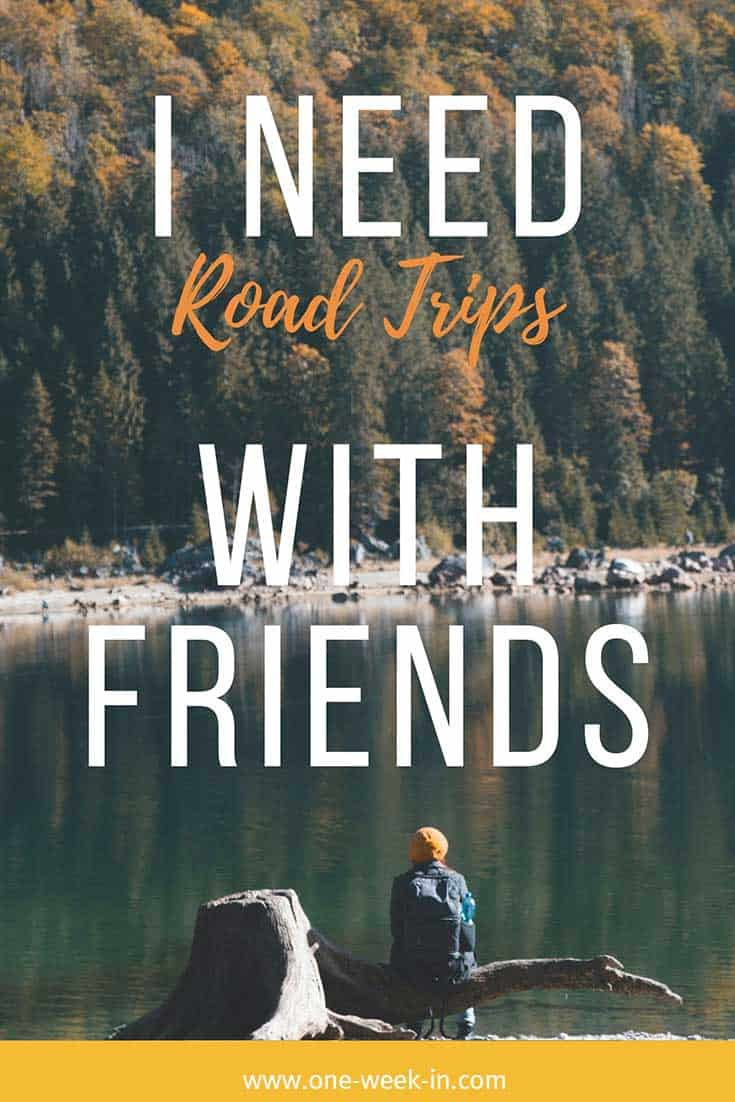 Road trip quote with friends